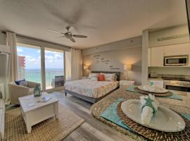 Deluxe Beachfront Studio, Shores of Panama New and Renovated, serviced apartment in Panama City Beach