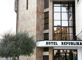 Hotel Republika Berat, hotel in Berat