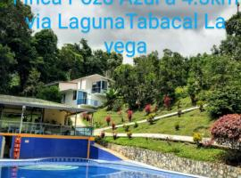 Finca Pozo Azul Eco Hotel, farm stay in La Vega