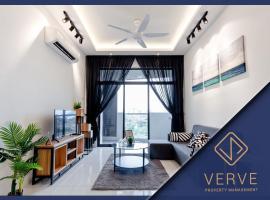 Ipoh Oasis Premium Suites by Verve (8 Pax), apartment in Ipoh