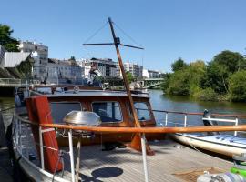 Maz glaz, boat in Nantes