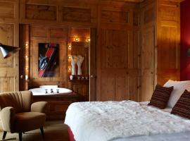 Hotel Mont Blanc Megève, hôtel à Megève près de: Remontée mécanique de Petit Rochebrune