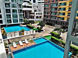 Neo Condo, 2 bedroom อพาร์ตเมนต์สองห้องนอน Pattaya, hotel in Jomtien Beach