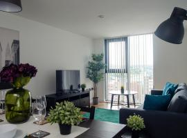 Contractors - book now for 2021! Sleeps 4, single beds, secure parking! City Centre Location, apartment in Sheffield
