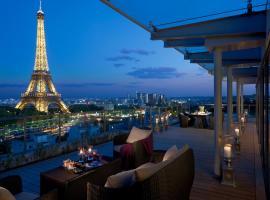 Shangri-La Paris, hotel near Eiffel Tower, Paris