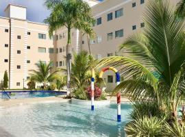 Encontro das Aguas apto 1/4, hotel in Caldas Novas