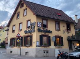 Hotel Waldhorn, hotel in Stuttgart