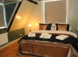 Bed en kerk 2 slaapkamer appartement, apartment in Hoorn