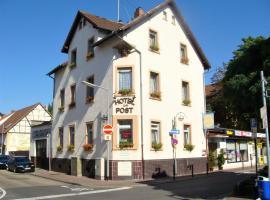 Hotel zur Post Schwanheim, hotel near Main-Taunus-Zentrum, Frankfurt/Main