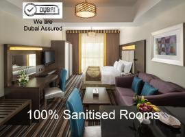 Savoy Central Hotel Apartments, hotel near Seawings Port Rashid, Dubai