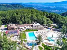Orlando in Chianti Glamping Resort, campsite in Cavriglia