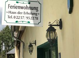 Haus der Erholung, hotel in Bad Münstereifel