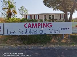Les sables du midi, campsite in Valras-Plage
