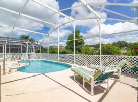 4BR Home with private Pool only 9 miles to Disney ! IP4531, cottage in Kissimmee