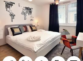 Key-Box Check-in Apartments by Ambiente, hotel en Bratislava