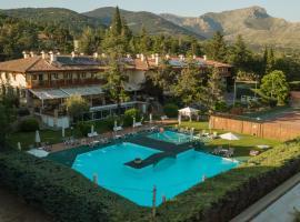 Hotel Rural Spa & Wellness Hacienda Los Robles, hotel near El Escorial Monastery, Navacerrada