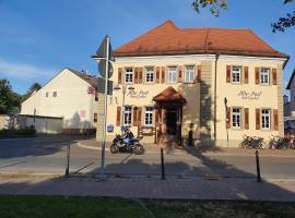 Hotel Gasthof Alte Post, hotel near Cathedral Speyer, Rheinhausen
