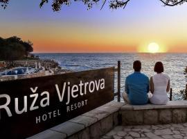Ruza Vjetrova - Wind Rose Hotel Resort, hotel u Dobroj Vodi
