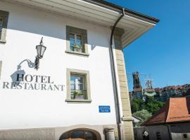 Le Sauvage, Hotel in der Nähe von: Bahnhof Fribourg, Freiburg im Üechtland