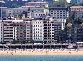 Hotel Niza, hotel in San Sebastián
