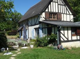 Le cottage du Coudray, gîte avec chalet sauna, cabin in Aubry-le-Panthou