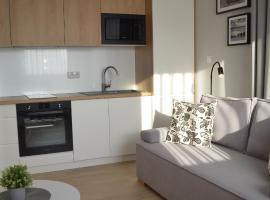 Apartament C11 z ogródkiem, Marynarska 8, apartment in Sarbinowo