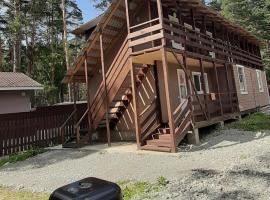 Гестхаус (guesthouse) в Манжероке, ski resort in Manzherok