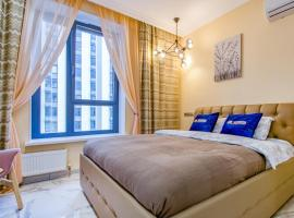 Luxe Apartment in the Match Point Complex, hotel in Moscow