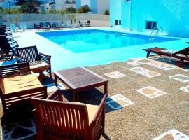 Liogerma, hotel near Provatas Beach, Adamantas