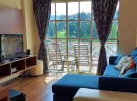 Teaz Apartment @ Iris House Resort, golf hotel in Cameron Highlands