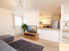 OPP Apartments -Contractors, M5 link, Sowton, Exeter City, free parking&Wifi, hotel near Westpoint Arena, Exeter