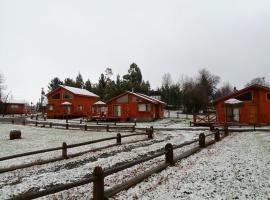 Complejo Loncopangue Lodge, cabin in Loncopangue