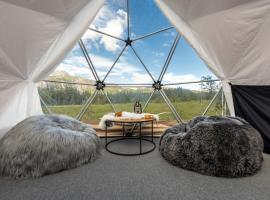 Dyrja Domes, luxury tent in Hemsedal
