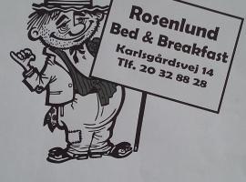 Rosenlund Bed and Breakfast, overnatningssted i Helsingør