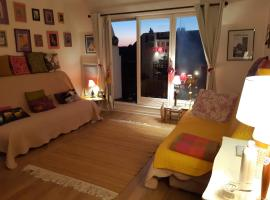 Chez Coco, 7 persons, triangle d'or, self catering accommodation in Deauville