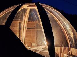 Le Wigwam du Fassac, luxury tent in Saint-Julien-du-Puy