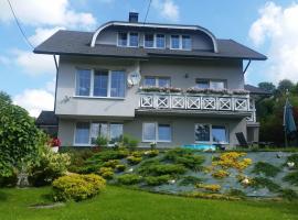 Biały domek – hotel w pobliżu miejsca Stacja narciarska Cieńków w Wiśle