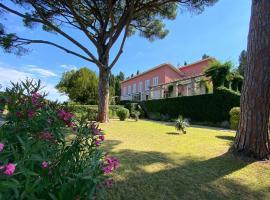 Vila Tartini, ubytování v destinaci Strunjan