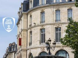 Cœur de City Hôtel Bordeaux Clémenceau by Happyculture, hotel near Chaban Delmas Bridge, Bordeaux