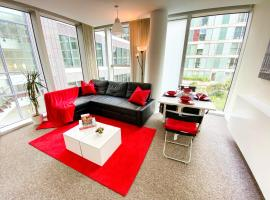 Cosy Hub Apartment in Central MK with FREE Parking, Netflix and Xbox by Yoko Property, apartment in Milton Keynes