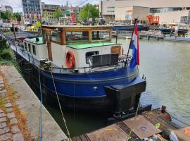 Houseboat holiday apartments Rotterdam, hotel near World Trade Centre Rotterdam, Rotterdam
