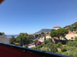 Charmant 2 Pièces Vue sur Mer et MONTE-CARLO à ROQUEBRUNE CAP MARTIN, apartment in Roquebrune-Cap-Martin