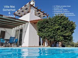 Villa Nisi, accessible hotel in Agia Galini