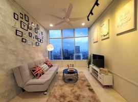 SEJ Homestay @Sky Suites KLCC, apartment in Kuala Lumpur