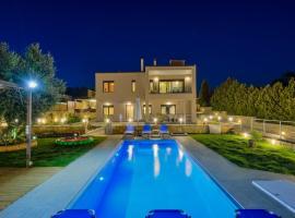 Villa Abelizia, hotel with pools in Chania Town