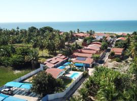 Recanto Verde Mare Blu, hotel with pools in Icapuí