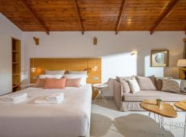 Platanias Theros suite, hotel near Agios Dimitrios Church, Gerani