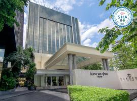 โรงแรม เดอะ สุโกศล กรุงเทพ โรงแรมใกล้ อนุสาวรีย์ชัยสมรภูมิ ในกรุงเทพมหานคร
