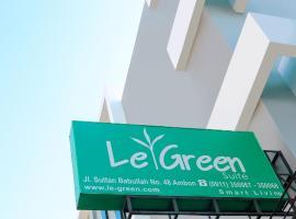 LeGreen Suite Waihaong, hotel di Ambon