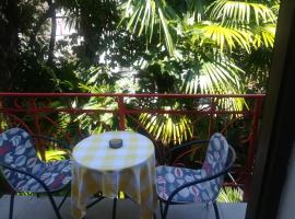 Romantic room with balcony, pet-friendly hotel in Lovran